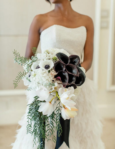 Aspen Wedding Flowers White and Lush